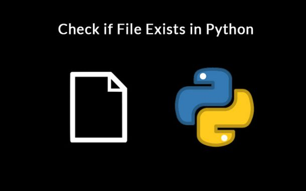 Check if File Exists in Python