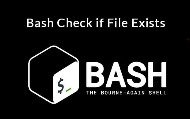bash check if file exists tutorial