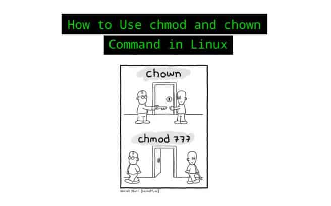 chmod and chown command Linux
