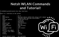 netsh wlan commands