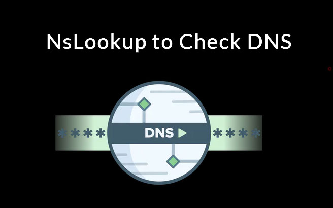 nslookup to check dns records
