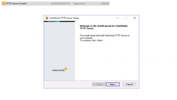 TFTP install