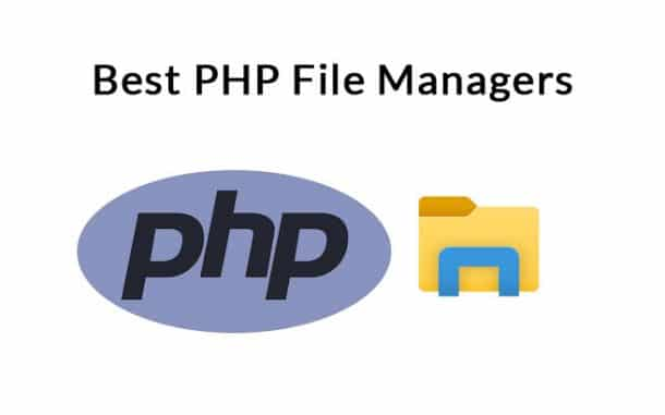 php file manager software and tools