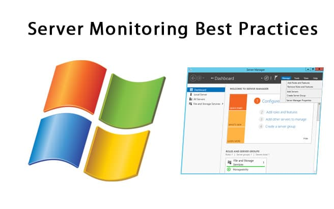 server monitoring best practices for Windows Servers