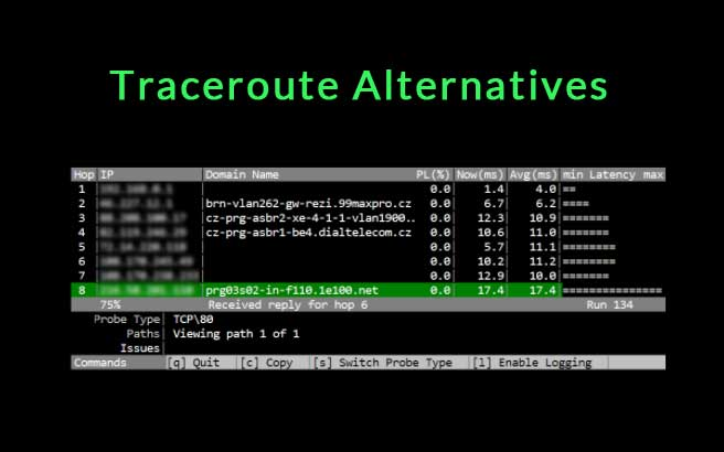 traceroute alternatives