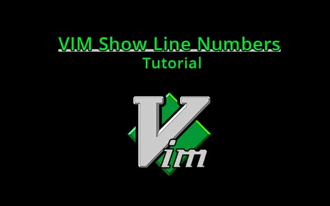 vim show line numbers