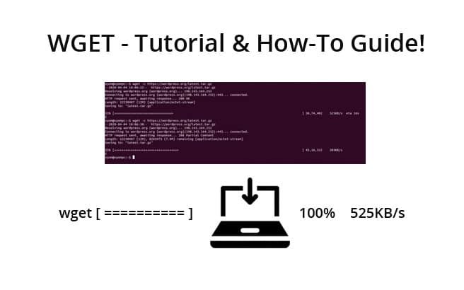 wget tutorial and howto guide syntax